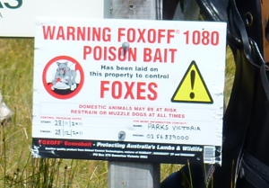 Fox Bait warning